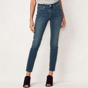 LC Lauren Conrad Skinny Ankle Jeans Size 6